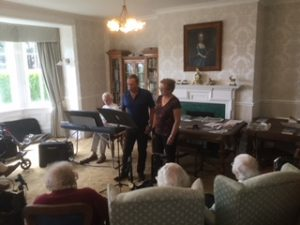 This and that singing at Bushell House Residential Home