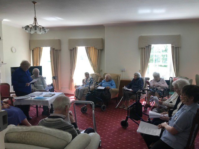 Ascension Day at Bushell House