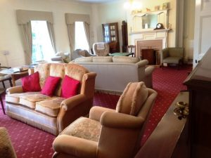 Drawing room at Bushell House