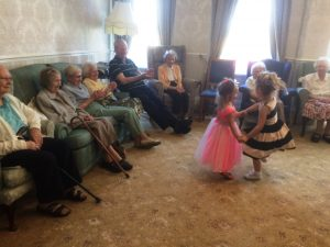 Ollie's Nursery came to dance at Bushell House today