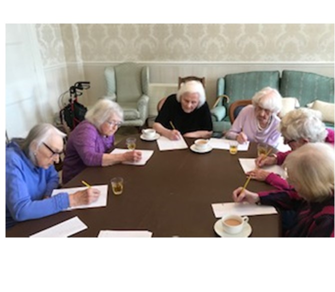 Memory Games at Bushell House