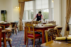 catering and hospitality dining room bushell house